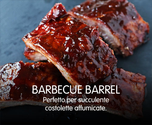 Barrel barbecue | Costolette affumicate